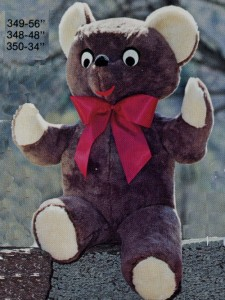 Cuddle Bear- #350, 348, 349