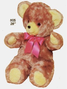 Bronze Luxy Bear